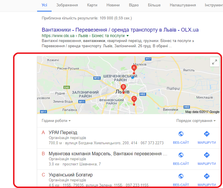 "Гугл Мой бизнес - бизнес блог ""Получи совет"""