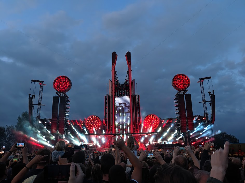Rammstein - концерт Латвия
